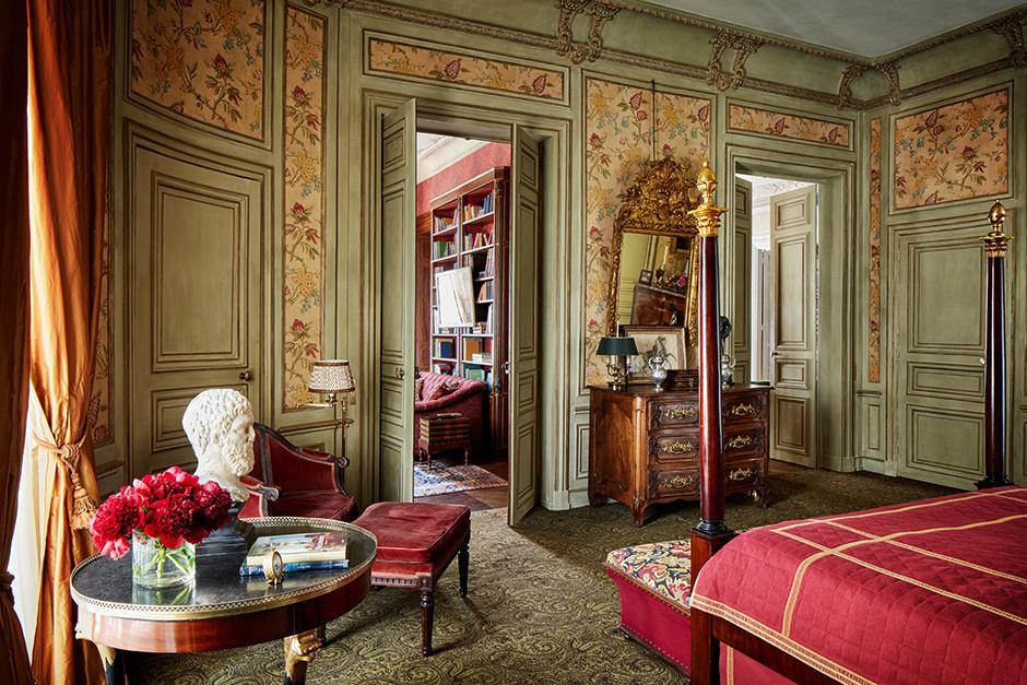 Квартира в парижском особняке XVIII века фото [10]