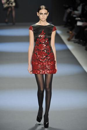 Показы мод Naeem Khan Осень-зима 2011-2012 | Подиум на ELLE - Подиум - фото 2313