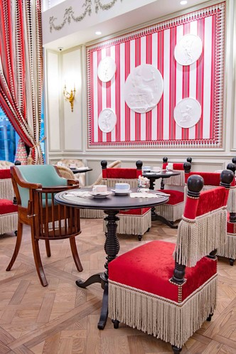 Ladurée открывает первый ресторан в России