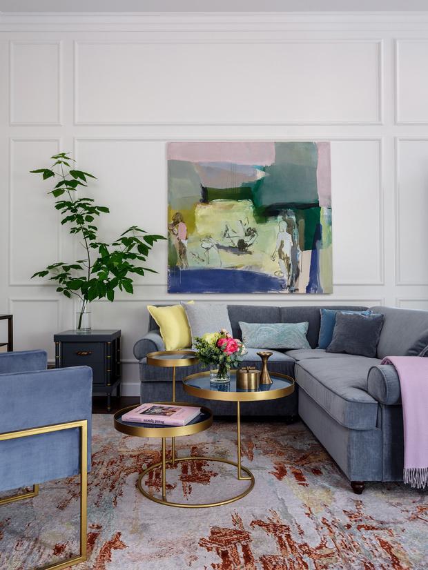 Надя Зотова: базовый интерьер гостиной (фото 8)