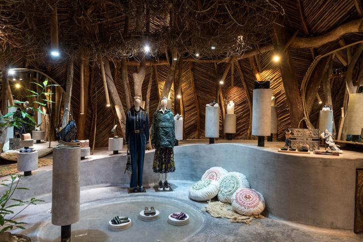 Отель Azulik с pop-up бутиком Dior в джунглях Тулума (фото 20)