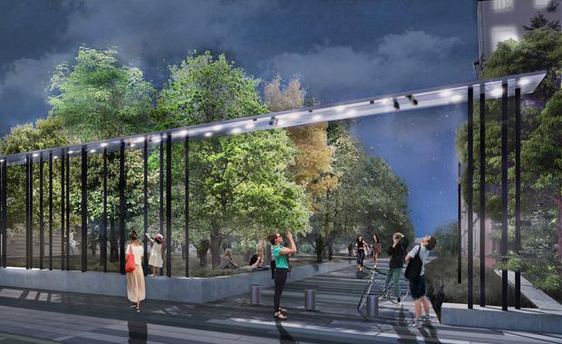 Новый вход в парк Горького по проекту бюро Wowhaus (фото 6)