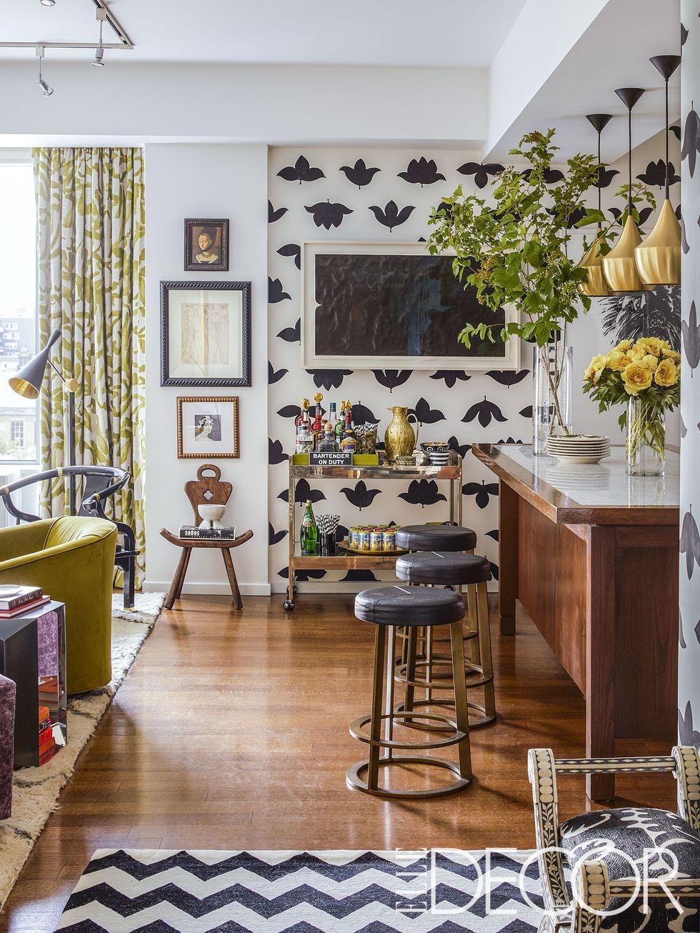 Обои на кухне: 10 свежих идей (галерея 0, фото 4)