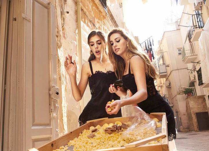 Вива Италия: в новой кампании Dolce & Gabbana снялись дочери Сильвестра Сталлоне фото [3]