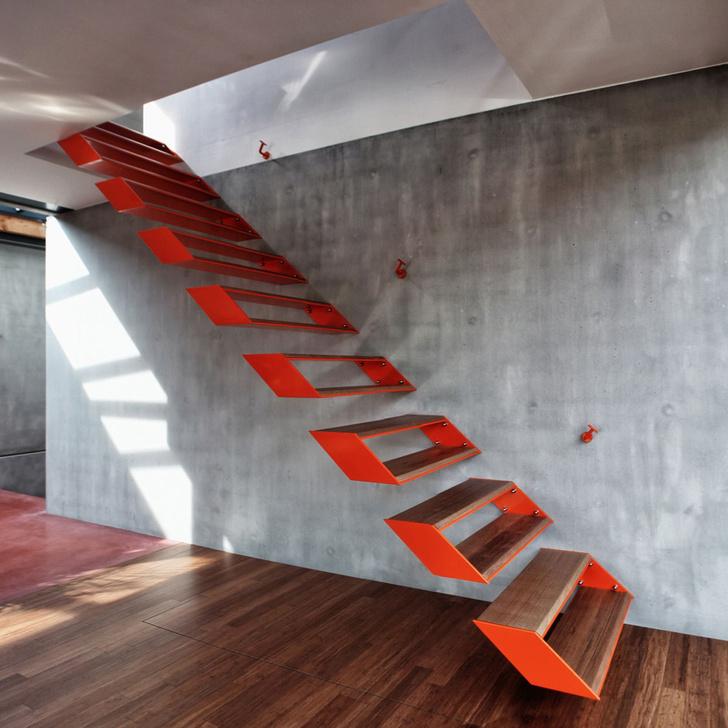 Топ-10: самые необычные дизайнерские лестницы фото [51]