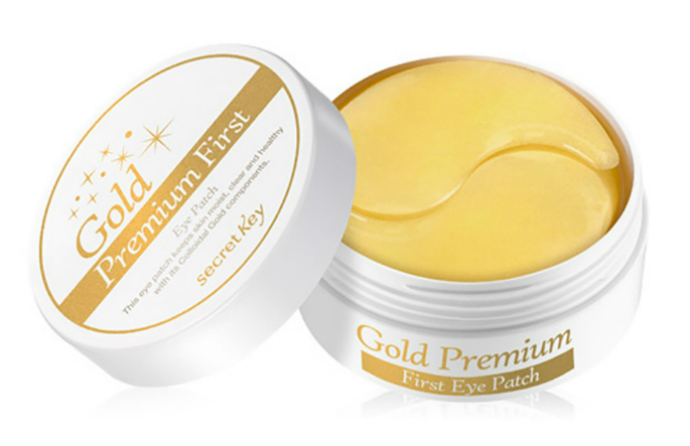 Патчи для глаз 24 Gold Premium First Eye Patch Secret Key