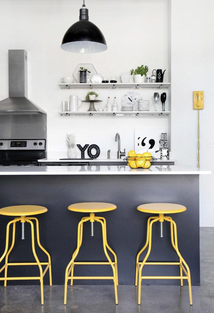 Желтый цвет в интерьере: советы и приемы (фото 28)