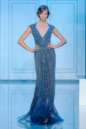 Показы мод Elie Saab Осень-зима 2011-2012 | Подиум на ELLE - Подиум - фото 2097