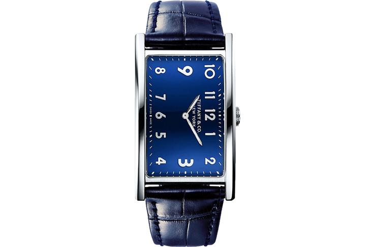 Часы East West, Tiffany & Co. Корпус из стали
