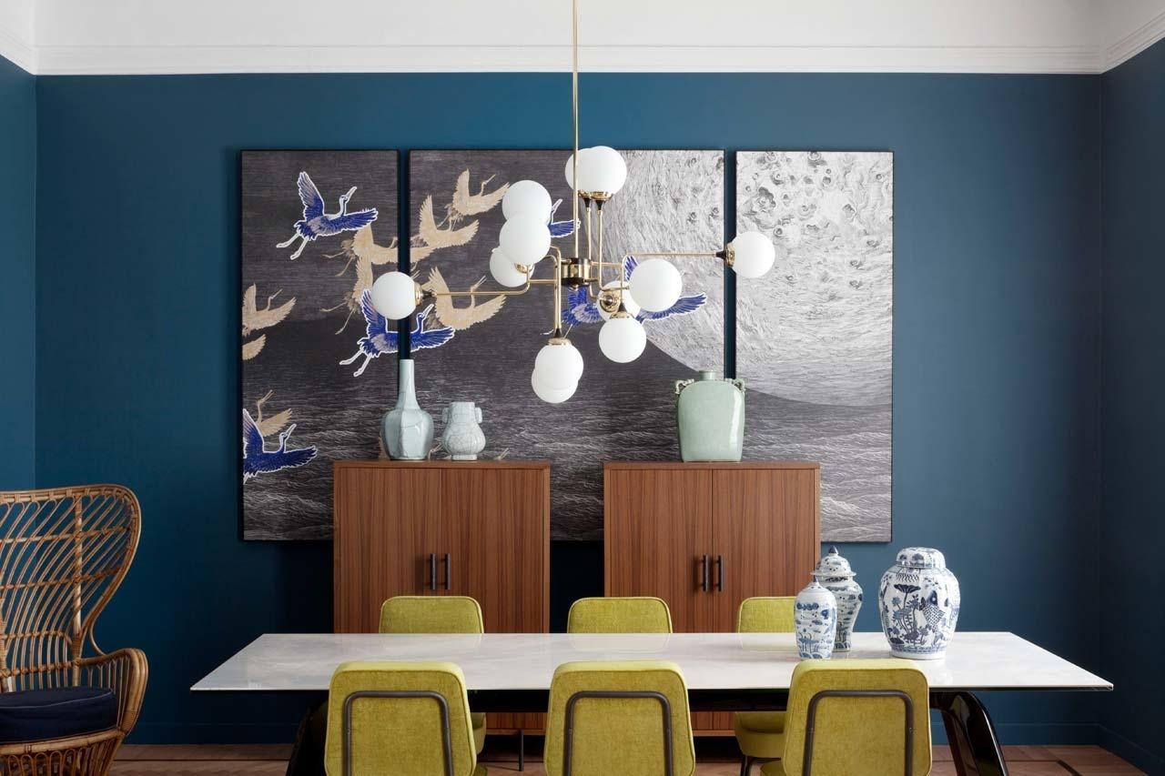 Столовая в квартире: 25 проектов (галерея 0, фото 4)