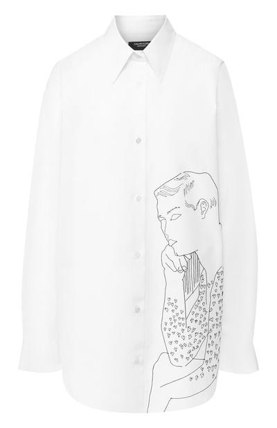 5 способов носить белую рубашку-оверсайз (галерея 16, фото 0)