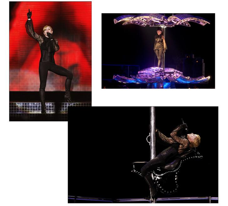 На сцене с Мадонной: лучшие концертные туры певицы (фото 6)
