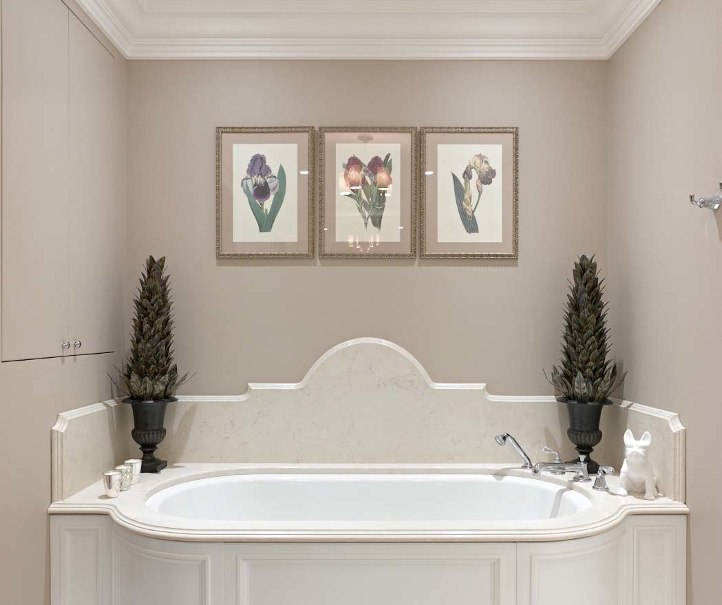Розовая пудра: 12 ванных комнат в розовой гамме (галерея 0, фото 0)