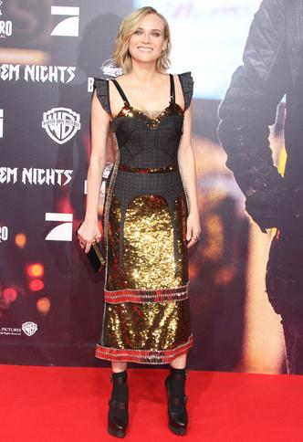 Глиттер и не только: Диана Крюгер в платье Vera Wang (фото 3)