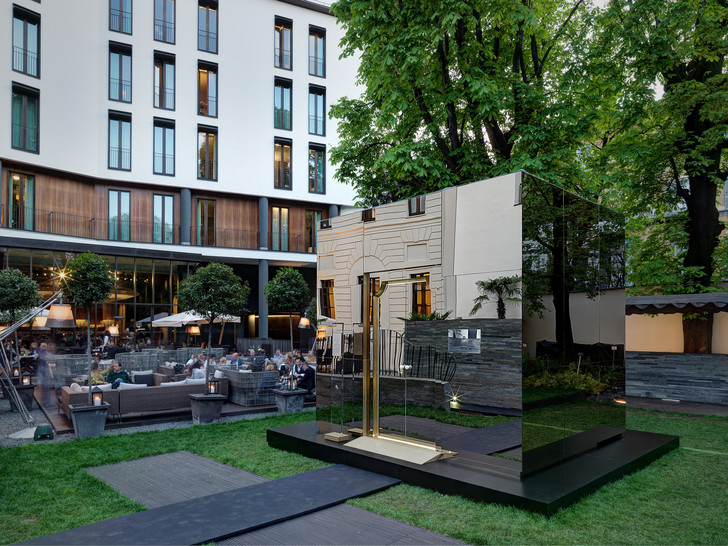 Зазеркалье Bvlgari на Milan Design Week 2018 (фото 14)