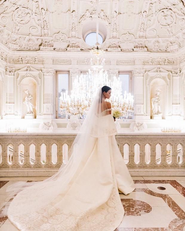 Как ангел: Паулина Андреева в свадебном платье Bohemique (фото 0)