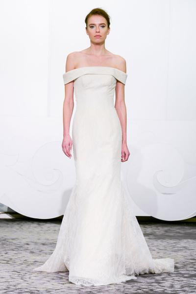 50 самых красивых платьев со Свадебной Недели Моды в Нью-Йорке | галерея [1] фото [18]