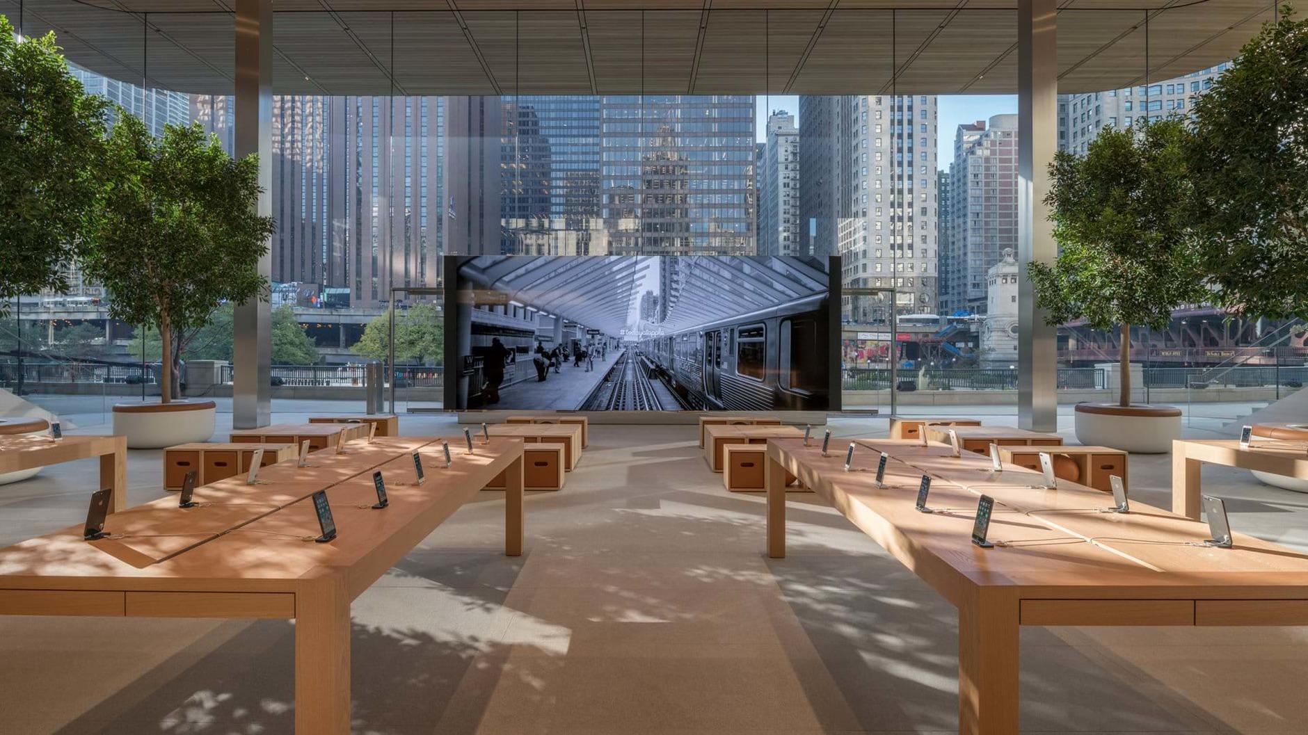 10 самых эффектных бутиков Apple (галерея 11, фото 1)