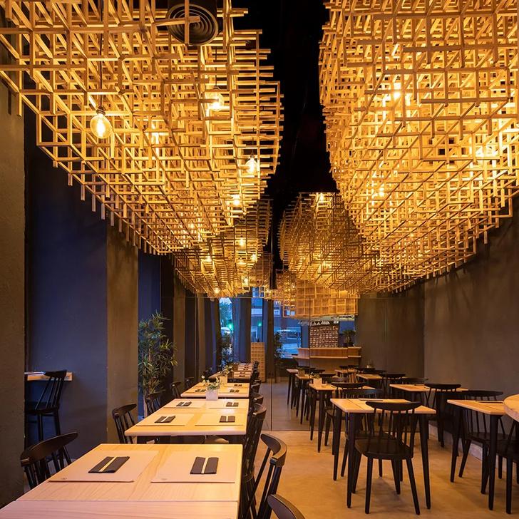 Лапшичная в Лиссабоне по проекту JCFS Architects (фото 6)