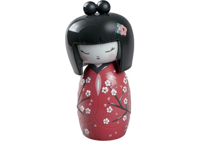 Японская кукла кокеши, Lladró, бутики Lladró, 39 375 руб.