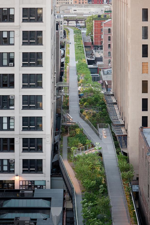 High Line в Нью-Йорке