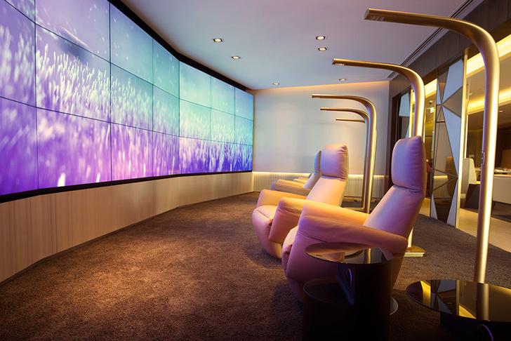 Лаунж Etihad Airways First Class Lounge & Spa в аэропорту Абу-Даби.