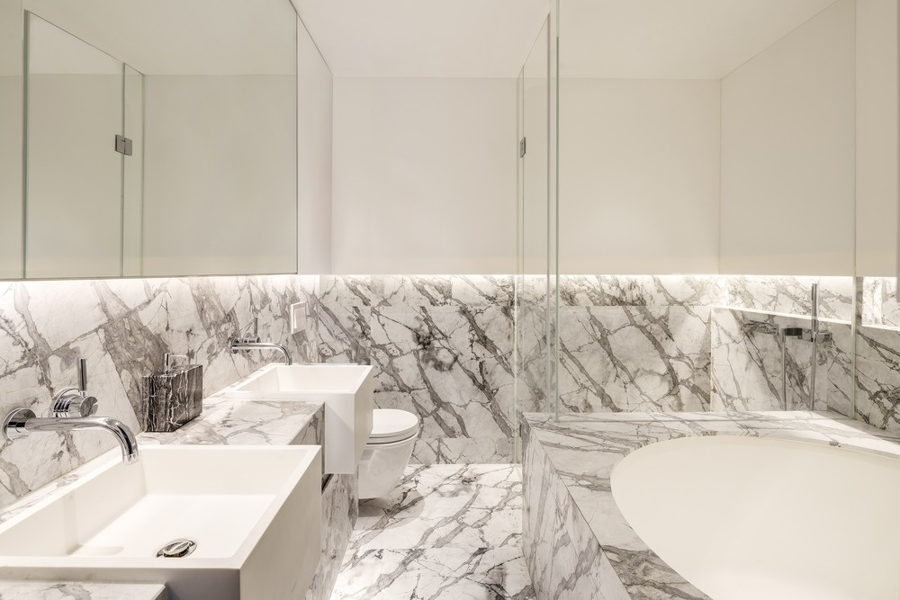 Одна ванная, две раковины: 20 примеров (галерея 1, фото 5)