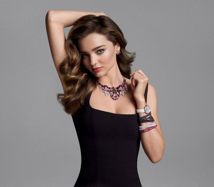 Миранда Керр в рекламной кампании Swarovski