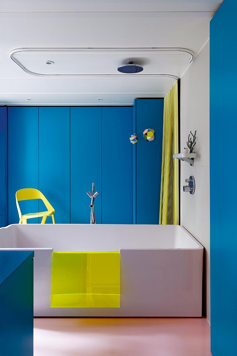 Синий цвет в интерьере: 30 проектов (галерея 0, фото 17)