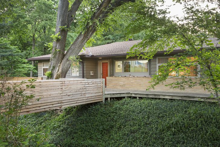 Ранчо в стиле мидсенчури в Канзасе (фото 15)