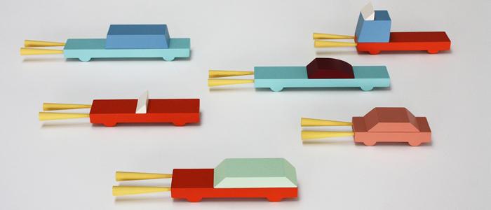 Фигурки Cartools, Magis, салоны «Интерьер Market», Галерея дизайна/bulthaup СПб