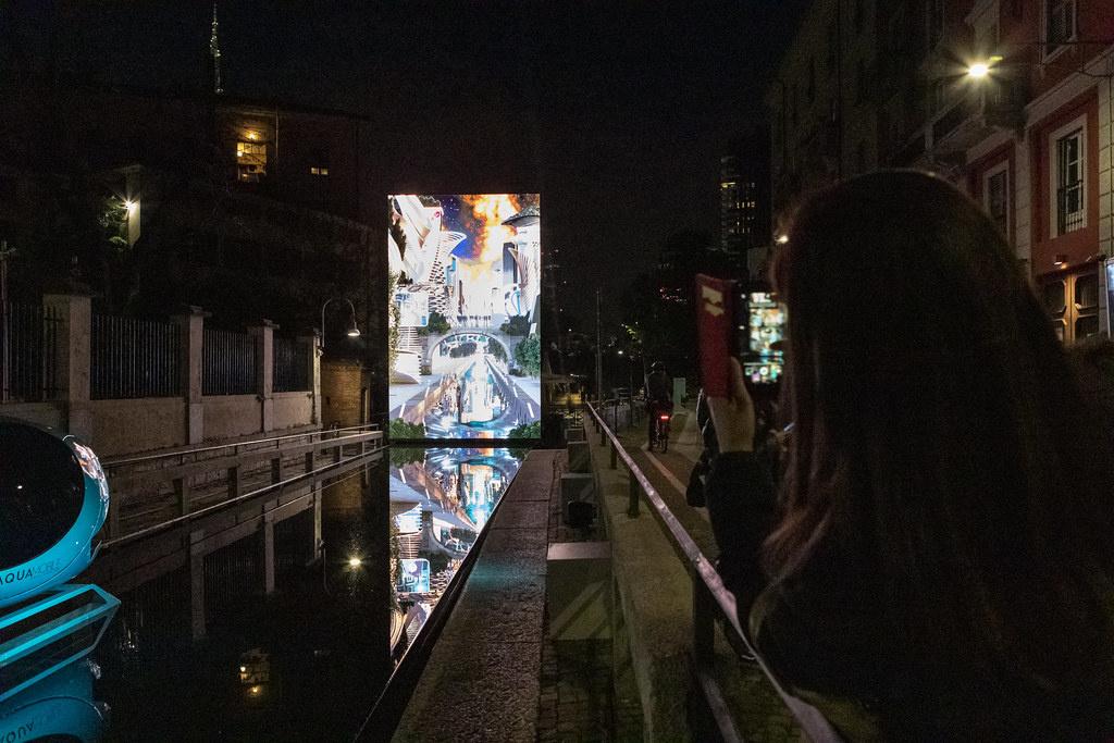 Форма воды: иммерсивный объект AQUA. Leonardo's Vision (галерея 5, фото 2)