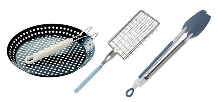 Сковорода, решетка и лопатка для гриля, Jamie Oliver, www.jamieoliver.com