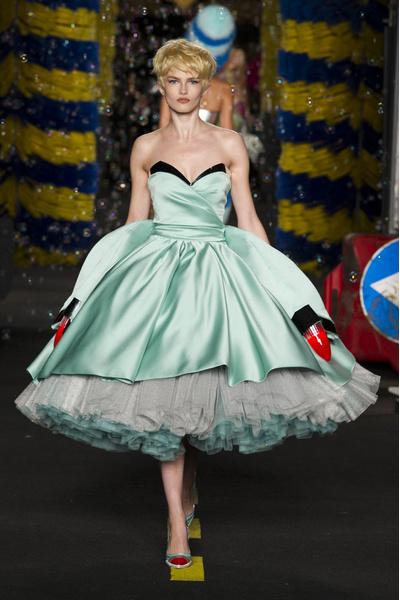 50 лучших платьев Недели моды в Милане | галерея [1] фото [7]
