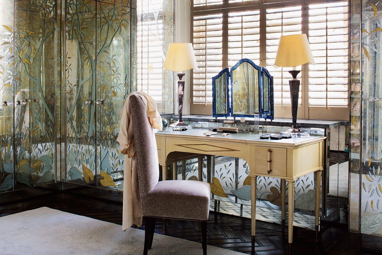 15 самых красивых туалетных столиков (галерея 1, фото 0)