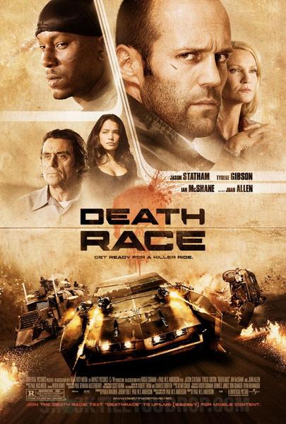 №9 «Смертельная гонка» (Death Race), 2008 антиутопии