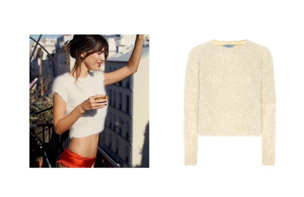 Самые сливки: кремовые свитеры для уютной зимы (фото 3)