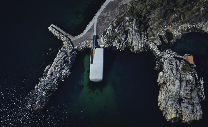 Характер нордический: подводный ресторан по проекту Snøhetta (фото 10)