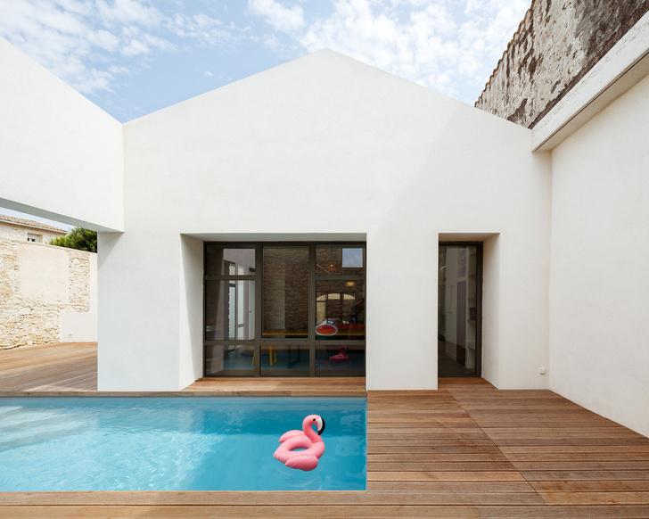 Новый дом с бассейном и патио в бывшем винном хранилище (фото 8)