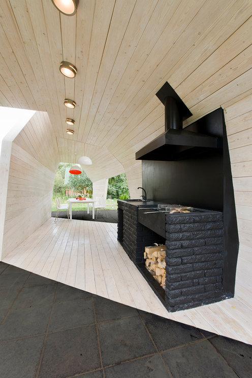 Беседки и павильоны для дачи от российских архитекторов (галерея 11, фото 1)