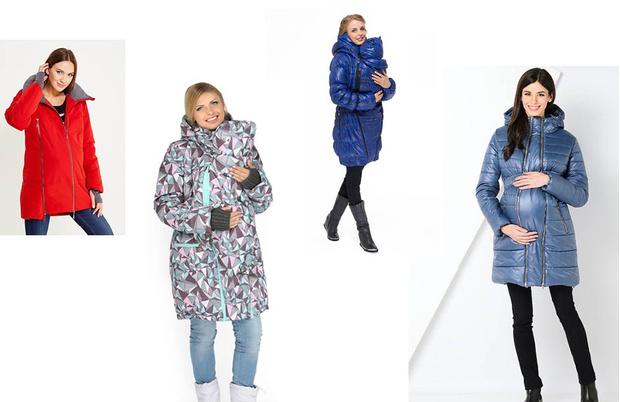 зимняя верхняя одежда для беременных фото