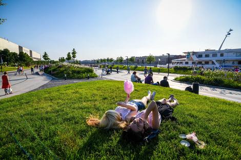 Парк Горького открывает летний сезон | галерея [1] фото [7]