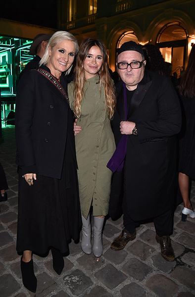 Стелла Маккартни, Сальма Хайек и Наталья Водянова на приеме в честь запуска Fashion Tech Lab | галерея [2] фото [23]
