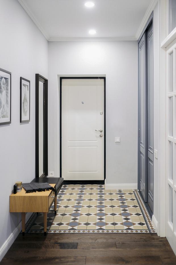 С чистого листа: модный образ старой квартиры в пятиэтажке фото [20]