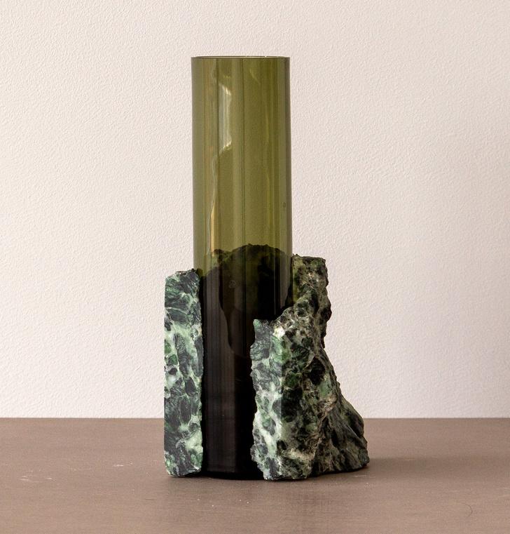 Стекло и мрамор: оригинальные вазы студии Studio EO (фото 9)