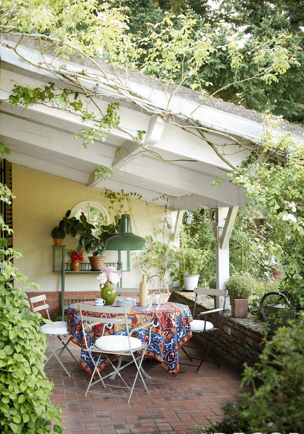 украшаем дворик на даче 5 идей (фото 1)