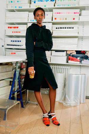 Показы мод Courrèges Осень-зима 2017-2018 | Подиум на ELLE - Подиум - фото 4882