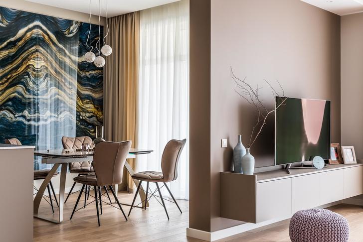Нежная пудра: квартира 120 м² в Сочи (фото 3)