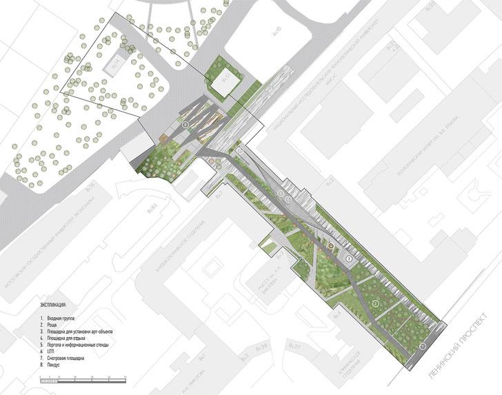 Новый вход в парк Горького по проекту бюро Wowhaus (фото 8)