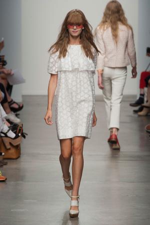 Показы мод Karen Walker Весна-лето 2013 | Подиум на ELLE - Подиум - фото 1254